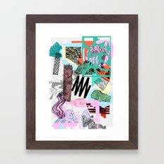 Defrag. Framed Art Print