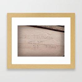 The Revolution Framed Art Print