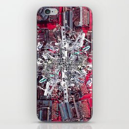 Rojo Typewriter iPhone Skin