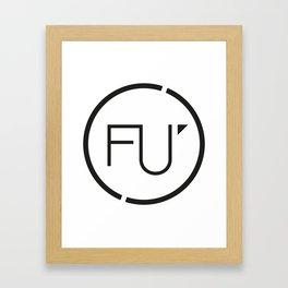 FU Framed Art Print