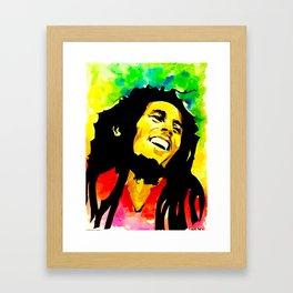 Bob / Marley - Sun is Shining Framed Art Print