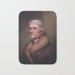 President Thomas Jefferson Bath Mat