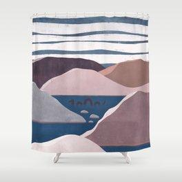 Sea Monster | Heart Strong Shower Curtain