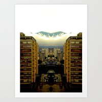 Caracas #1 Art Print