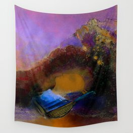 "Odilon Redon ""Orpheus"" Wall Tapestry"