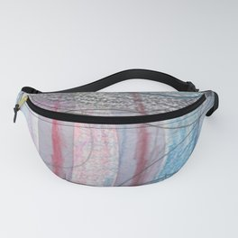 Blue Layer 2 Fanny Pack