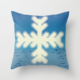 Austria to Ski Throw Pillow