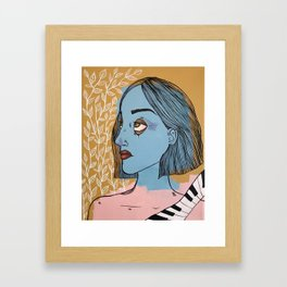 A Piano and A Vine Framed Art Print