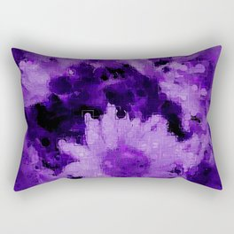 Trendy purple collection 1 Rectangular Pillow