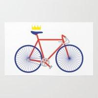 bike Area & Throw Rugs featuring Bike by Keep It Simple