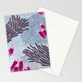 The Great Blue Coral Reef Stationery Cards