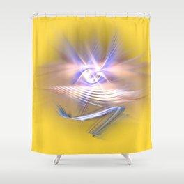 pure spirit -the eye Shower Curtain