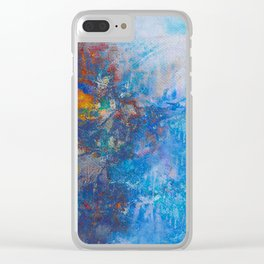 River Bank Clear iPhone Case