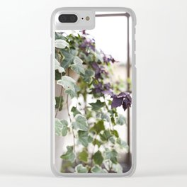 Trailing Ivy Clear iPhone Case