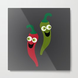 Hot Diggity! Metal Print