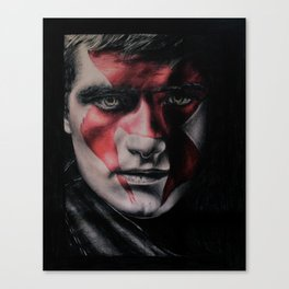 MJ Part 2 - Peeta Mellark Drawing Canvas Print