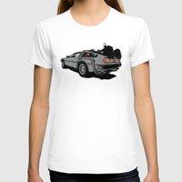 delorean T-shirts featuring DeLorean by CranioDsgn
