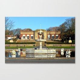 Blackpools Stanley Park Cafe Canvas Print