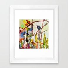 the child Framed Art Print