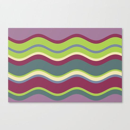 Lavender Shores Canvas Print