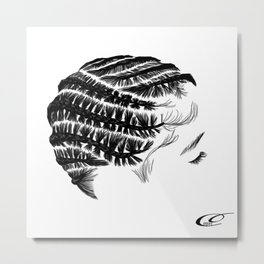 The Crown You Will Always Wear 14 Metal Print
