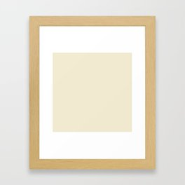 SWEET CORN PANTONE NEW YORK FASHION WEEK 2018 SPRING 2019 SUMMER Framed Art Print