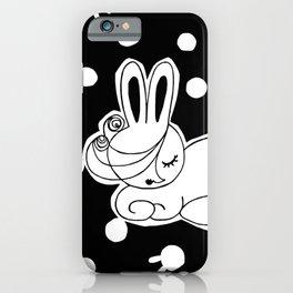 Rabbit Girl iPhone Case