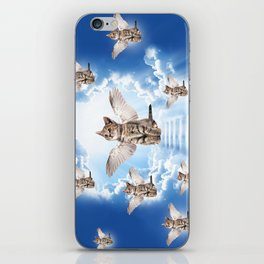 All Cats Go to Heaven iPhone Skin