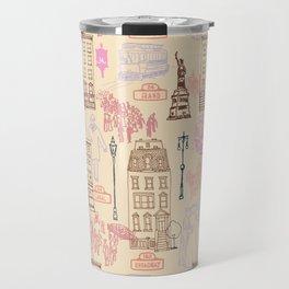 New York City 1900 Travel Mug