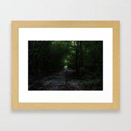 Old Highway 13 Framed Art Print