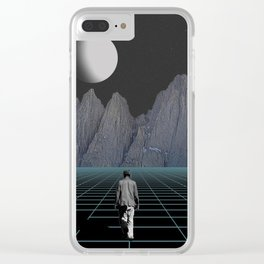 Wherever I May Roam Clear iPhone Case