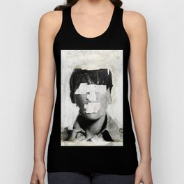 Faceless | number 02 Unisex Tank Top