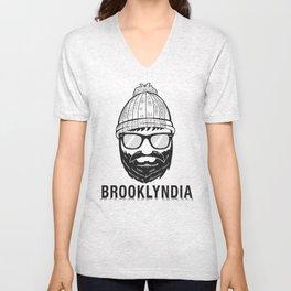 Brooklyndia 2 Unisex V-Neck