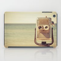 robot iPad Cases featuring Robot Head by Olivia Joy StClaire
