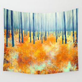 Late Autumn Wall Tapestry