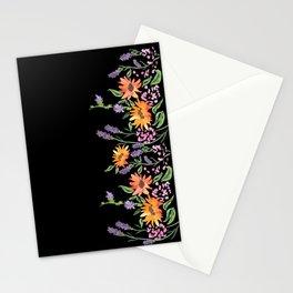 Jedburgh Black Stationery Cards