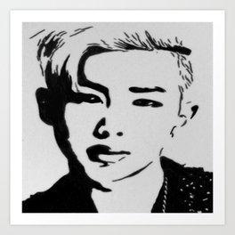 Rap Monster- BTS Art Print