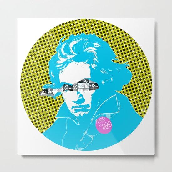 Ludwig van Beethoven 14 Metal Print