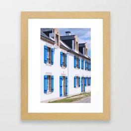 216. House of Blue, Britain, France Framed Art Print