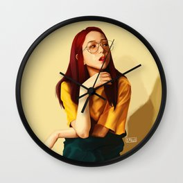 BLACKPINK JISOO Wall Clock