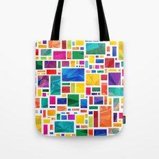 Polygonal Map Tote Bag