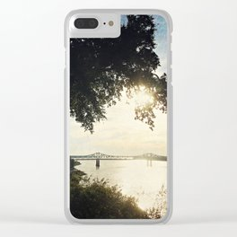 Mississippi River at Natchez Clear iPhone Case