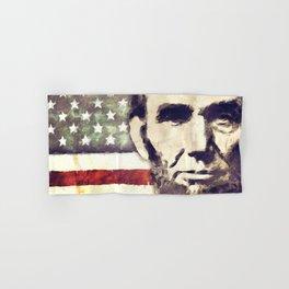 Patriot President Abraham Lincoln Hand & Bath Towel