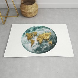 The World is Fallen Down Rug