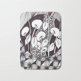 Zen Doodle Graphics zz17 Bath Mat