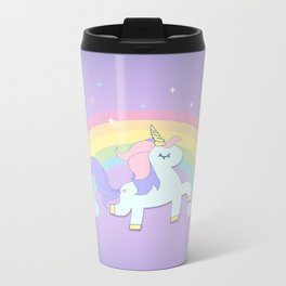 be a unicorn, forever ... Metal Travel Mug