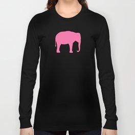 Pink Elephant(s) Long Sleeve T-shirt