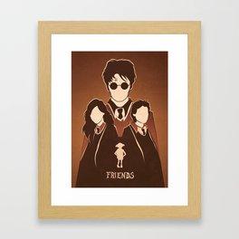 Harry Potter Tribute.  Framed Art Print