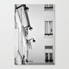 Paris, architecture and day to day life Canvas Print