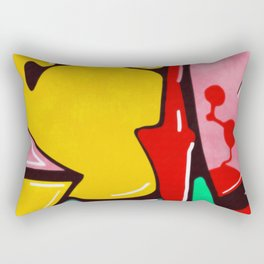 In the street No3 Rectangular Pillow